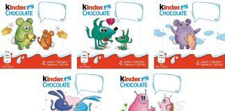 Originálna obrázková edícia Kinder Chocolate